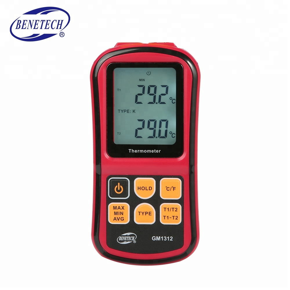 New Design Thermocouple Thermometer GM1312 Measuring The Of JKTEN And R Type With High Quality