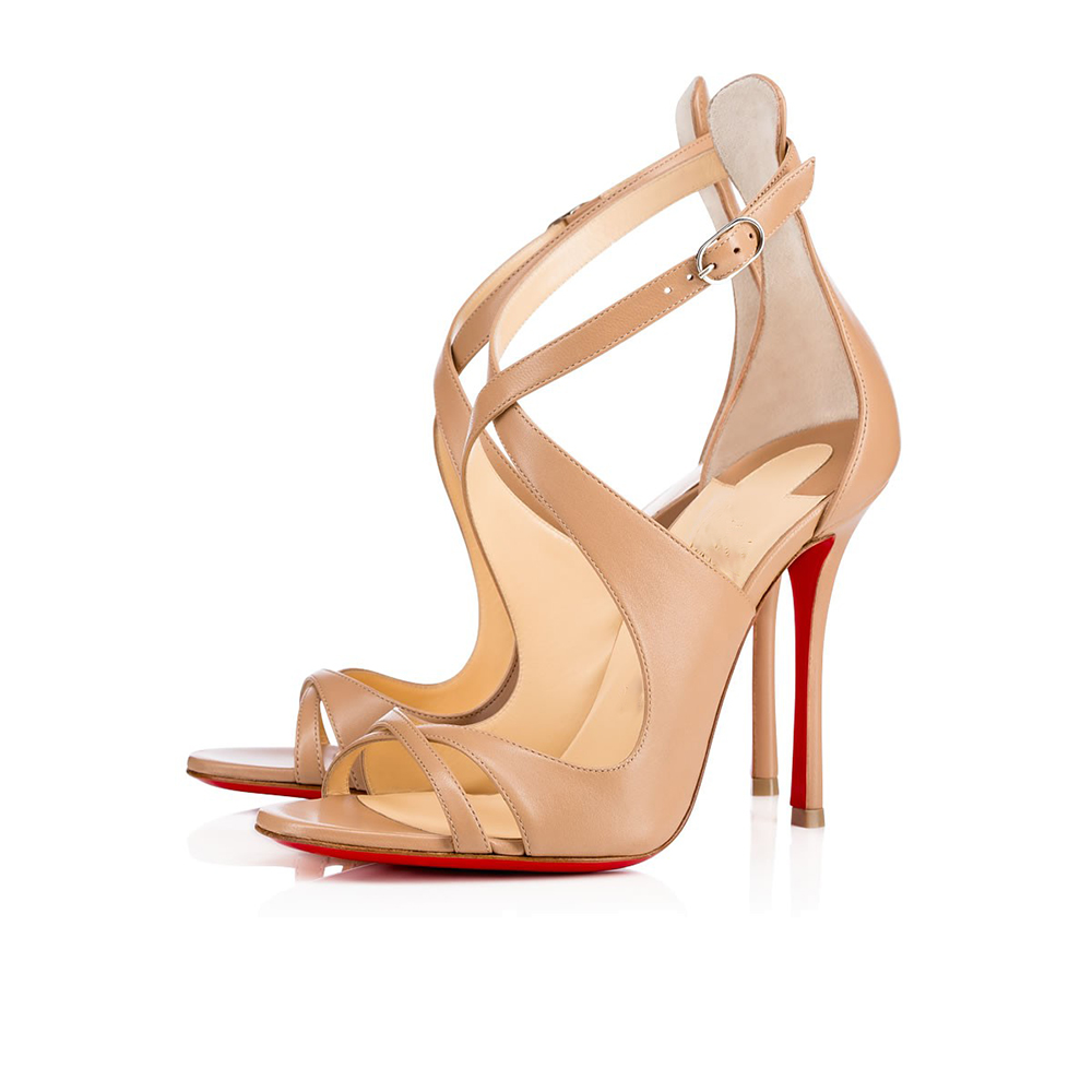 Nude Color Special Occasion Woman High Heels Stripper Shoes