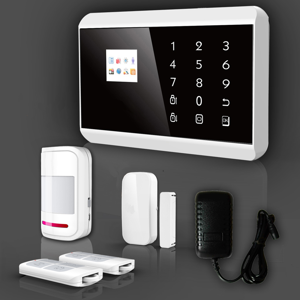 10s Voice Message Gsm Fire Alarm System With Wireless Wired Zone ...