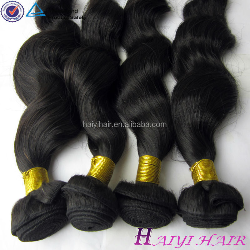 100% remy Indian hair weave/weaving loose wave wholesale hot sale indian hair international