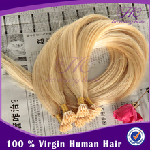 Free Pictures Suh Women Keratin Indian Remy Hair I Tip Human Hair Extension