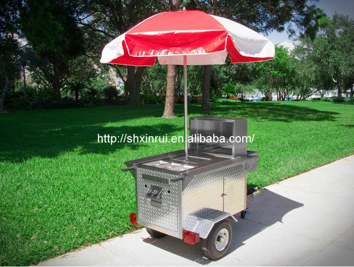 Mobile Food Cart Hot Dog XR HD110 A View XinRui Product Details From Shanghai Xinrui Catering Equipment Co