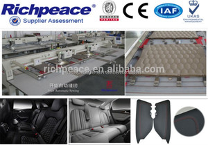 High Speed Automatic Leather Sewing Machine for Car Seat