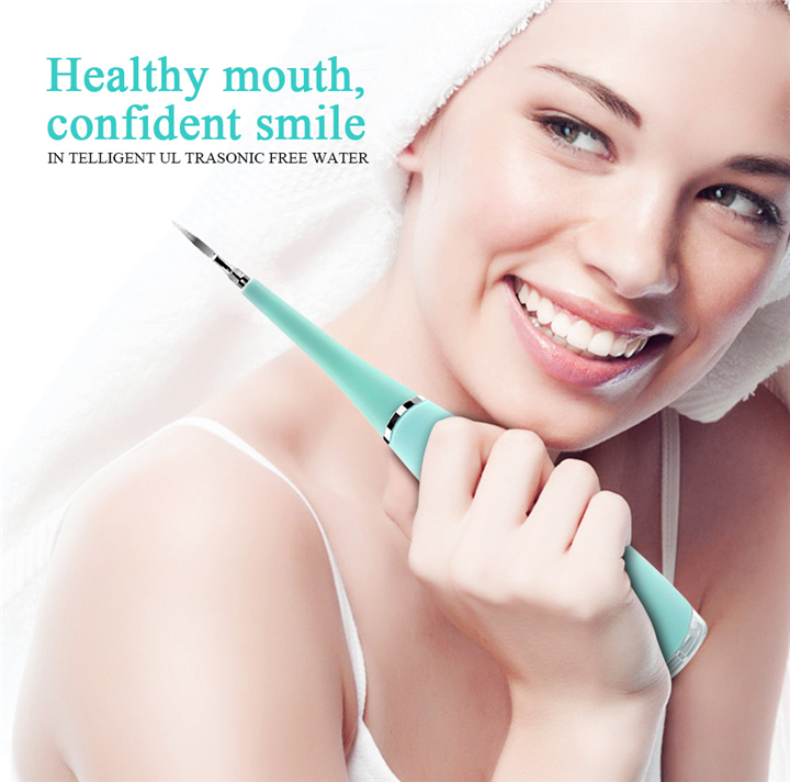 Mancha dental tártaro removedor de cálculo de alta freqüência de vibração elétrica tooth cleaner