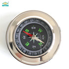 High Quality Classic Silver Outdoor Pocket Metal Compass