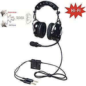 e0b95dbfac6 Get Quotations · UFQ A28 great ANR aviation headset Active Noise  Reduction-Compare with Rugged Air RA950 BUT