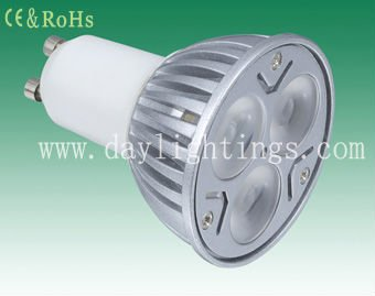 manufacturer in China GU10 LED spotlight 3*2W bulb (AC100-240V)