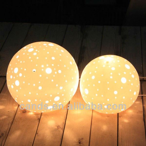 boule d corative porcelaine lampe de nuit table lampe de nuit lampe de table et de lecture id. Black Bedroom Furniture Sets. Home Design Ideas