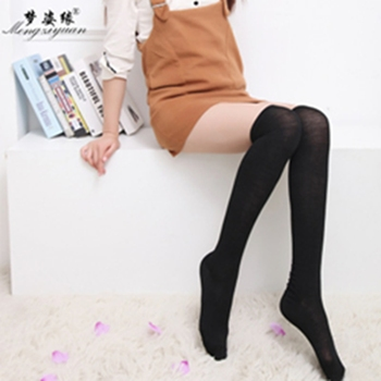 c741aee0bfe 2018 Women Stockings Socks Warm womens Thigh High Over the Knee Socks Long  Cotton medias Sexy