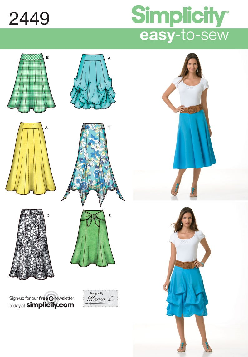 14-16-18-20-22 R5 Simplicity Creative Sewing Pattern S0683 8138 Misses Easy-to-Sew Tunics and Pull-on Pants