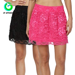 a442c70b9c9 Black Skirt With Lace