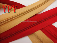 polyester nylon zipper