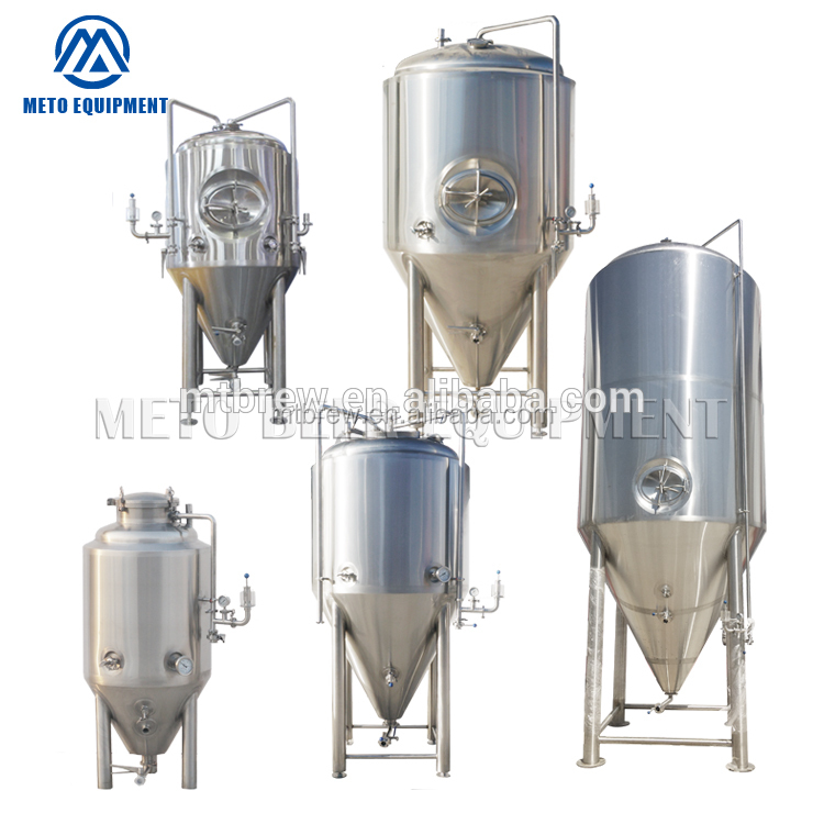 Stainless teel or red copper Conical fermentation tank 300l 1000l