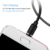 2019 3 in 1 USB Data Cable for Samsung Phone Micro USB Type C  Charger Cable Support Fast Charge
