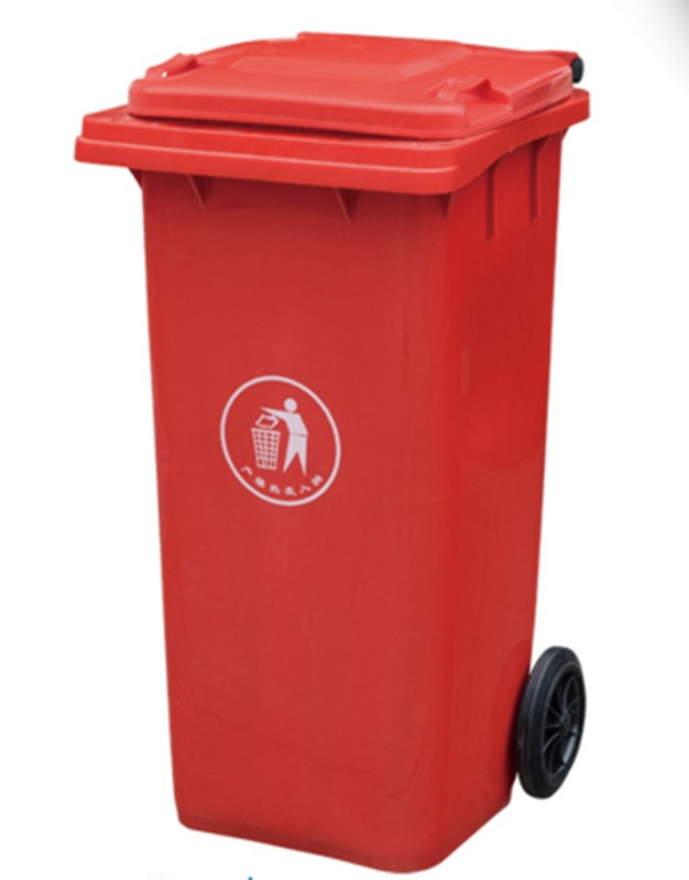 Disposable Fire Resistant Plastic Garbage Outdoor Dustbin