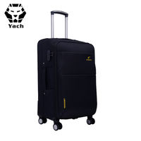 Customized Long Distance Durable Oxford Travel Trolley Case Suitcase Waterproof Oxford Airport Boarding Soft Luggage