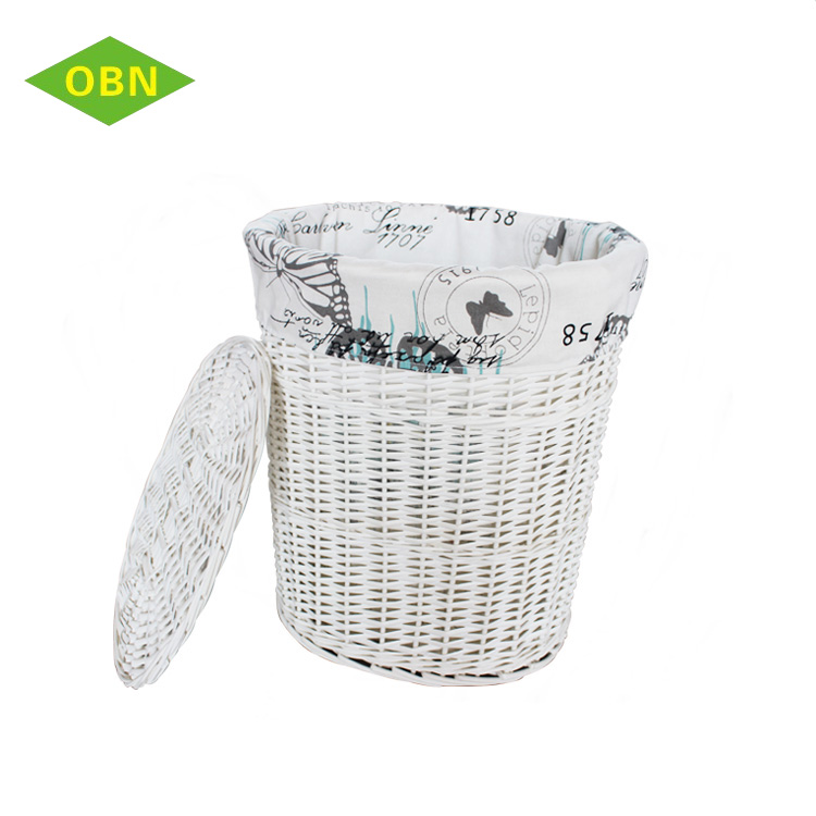 Decorative Laundry Hamper Best Set 60 Decorative Laundry Hamper White Wicker Storage Basket With Lid