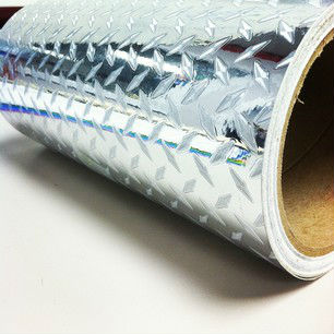 3mil Printable Pvc Diamond Plate Vinyl Film - Eco Solvent,Uv,Latex ...
