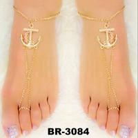 New Fashion Beautiful Popular Woman Personalized Hip Hop Beach Anklets/Bracelet
