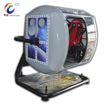 Standard Arcade Game Machine 9d Vr 720 Degrees Flight Simulator - Buy  Arcade Game Machine,9d Vr,720 Degree Flight Simulator Product on Alibaba com