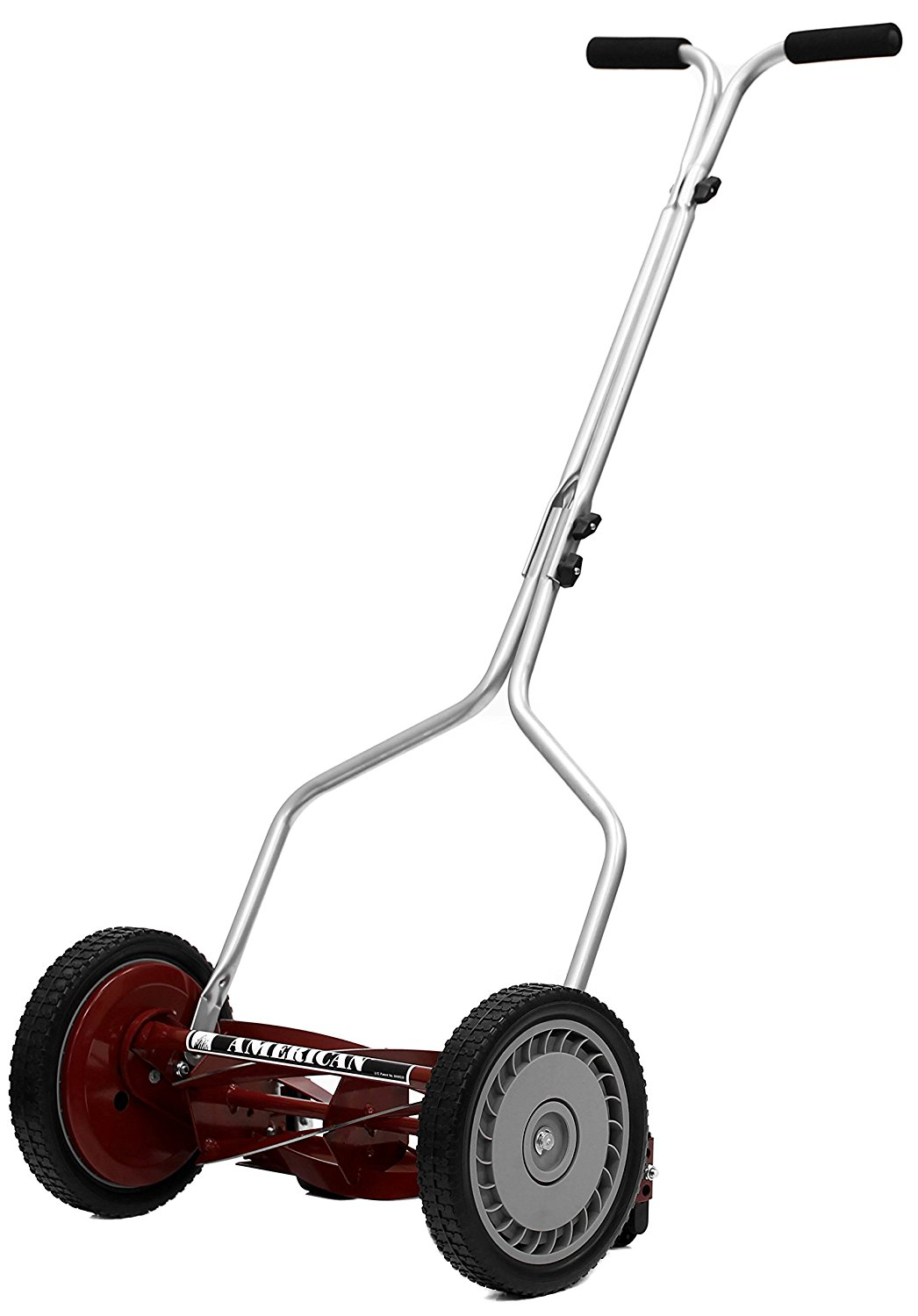 """Get Quotations · Hand Reel Push Lawn Mower 5-Blade 14"""", ..."""