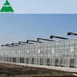 New type glass greenhouse used for lettuce