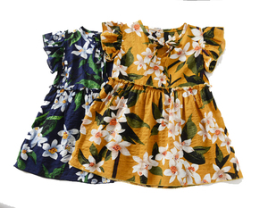 1 year girl casual dress Baby Toddler Girls Skirt Sets Flutter Floral Dress Set