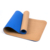 Nontoxic eco friendly skid proof custom travel cork yoga mat with tpe material