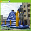 water slide games children inflatable adult slip pipe castle with water slide price