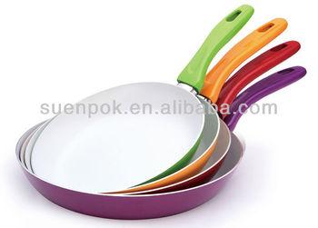 Aluminum Nonstick Omelet Pan Ceramic Fry Pan Cookware
