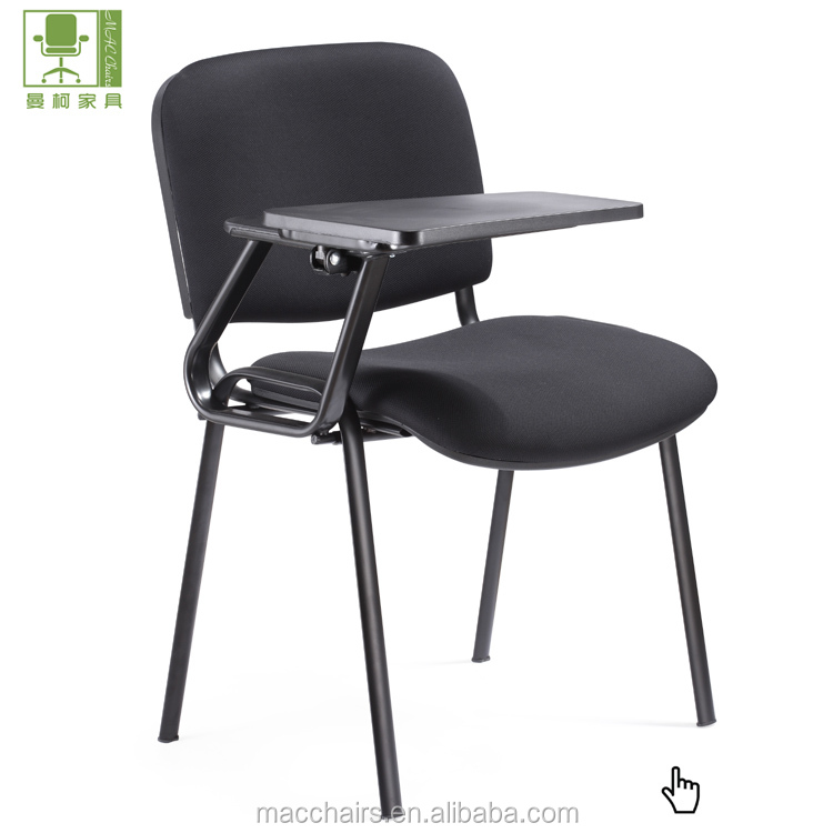 Siswa Sekolah Kursi/ISO/Pelatihan/Konferensi/Kain Kursi Kantor dengan Pad