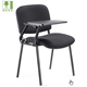 school student chair/ISO/training/conference/fabric office chair with writing pad
