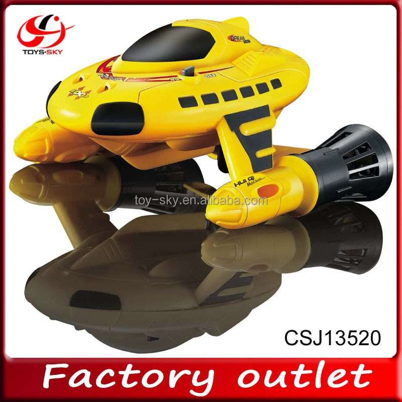 Hit 2015 New product RC Skimming and Diving racer boat remote control submarine boat toys for sale