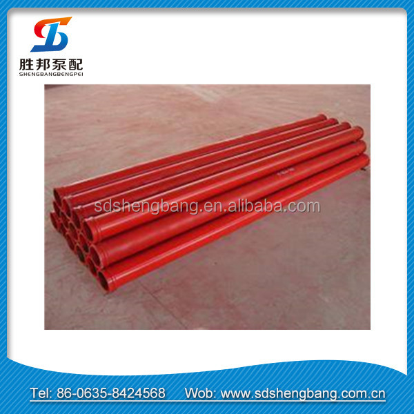 High durability Sturdy Construction Easy to operate Concrete Delivery Pipe