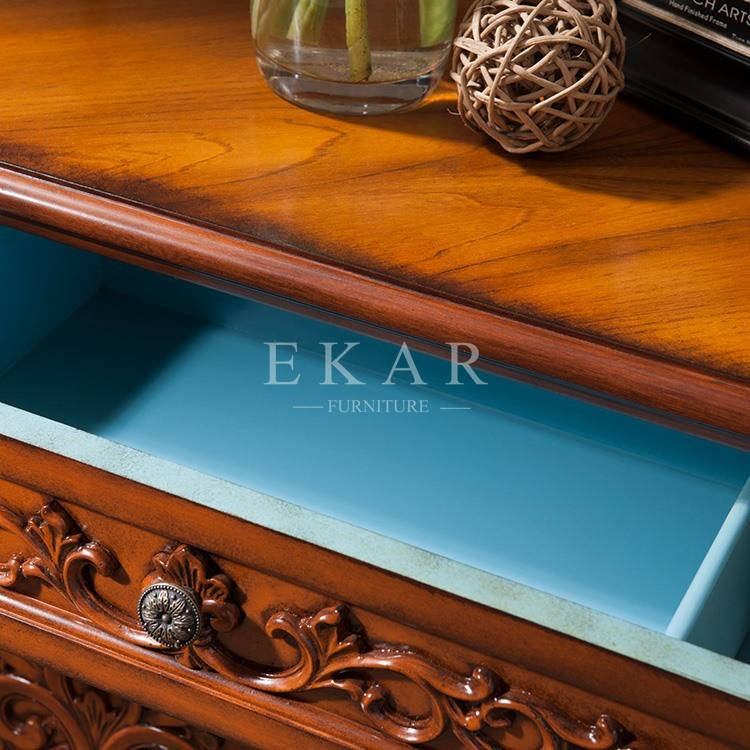 art deco corner table recycle wood art deco cabinet shoe chest with drawer chinese