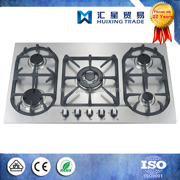 5 Burner Gas Stove Top Panel For Parts Of Gas Cooktop Buy Gas