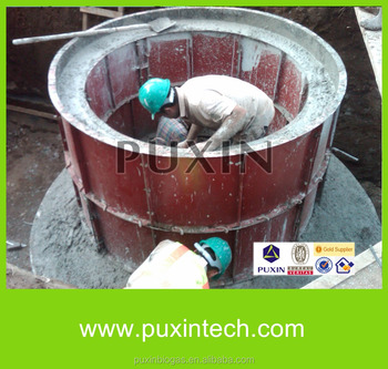 Puxin Biogas Making Plant/small Biogas Plant/home-use Biogas For  Cooking&heating - Buy Biogas Making Plant,Small Biogas Plant,Small Biogas
