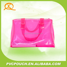 China supplier good quality pvc plastic women hand bags