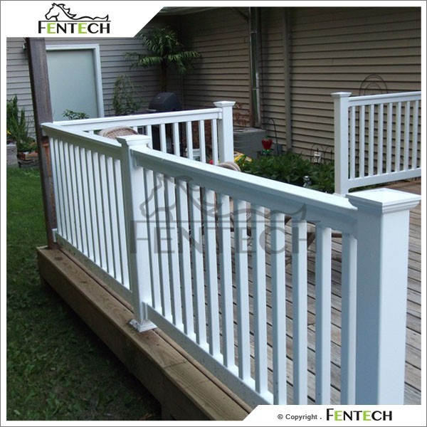 uv bestendig kunststof leuning balkon reling pvc balkon hek hekwerk trellis en poorten product. Black Bedroom Furniture Sets. Home Design Ideas