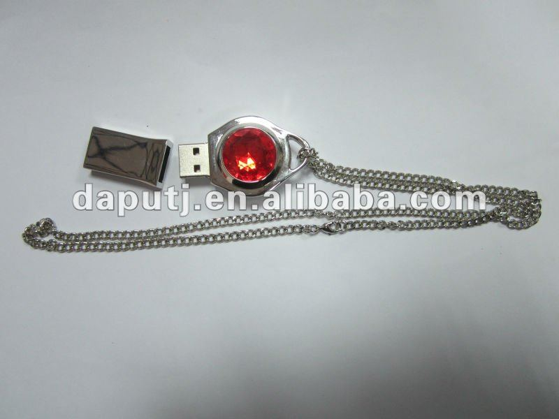 High quality red jewels usb flash drive in 1GB,2GB,4GB,8GB,16GB,32GB.