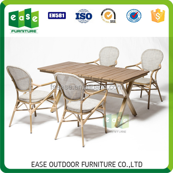 French Style Outdoor Dining Set Latest