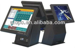 17 Inch LED Touch Screen All in One Wireless Gsm POS Terminal