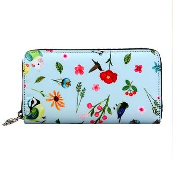 4c3df6fecf4b Fashion Women Long Wallet High Quality Polyester Ladies Purse Multi  Function Zipper Money Bag - Buy Women Long Wallet