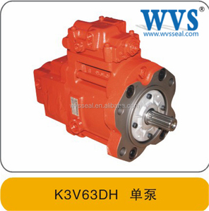 Excavator Kawasaki Single Diesel Pump K3V63 High Pressure Piston Pump