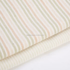 Certificated Top Quality 100% Organic Cotton Knitted Fabric Interlock