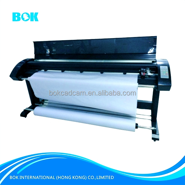 Best Price Wide Format Double Heads Digital Eco Solvent plotter machine garment CAD Inkjet Printer