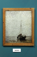 Popular Galvanized Picture Wooden Framed Art
