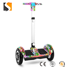 Adult Foldable Electric Scooters With Adjustable Seat, 10inch Two Wheel Electric Balance Scooter