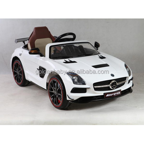 Newest Ride On Car Kids Licensed Mercedes Benz Amg Electric Toy