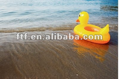 Inflatable PVC children promotion duck toy